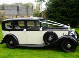 Rolls Royce for wedding hire in Leeds